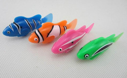 Wholesale New Robo - Novelty New Robo Fish Water Activated Magical Turbot Fish Kid children Toys Christmas gift