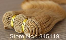 Oxette malaio on-line-Oxette Mel loira # 27, # 99J, # 30, # 33 cor extensões do cabelo da onda do corpo da Malásia trama 100% virgem cabelo humano pacotes 4 pcs muito