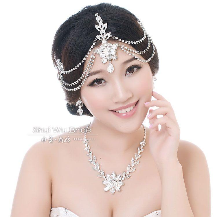 bride hair decorations Tiaras hair accessories bridal hair accessories bridal comb Alloy Butterfly Wedding Bridal Jewelry 004