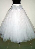 Wholesale Crinoline Net White - Free Shipping New 2016 Hot Sale A - Line 4 Layers NO - Hoop Net Crinoline   Petticoat   Underskirt   Bridesmaid Dresses