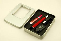 Wholesale Electronic Cigarette Box Aluminium - DHL EMS Free EGO CE5 Kits Electronic Cigarette E-cigarette E-cig kits Atomizers Colorful Batteries in Aluminium Box Ego Kits