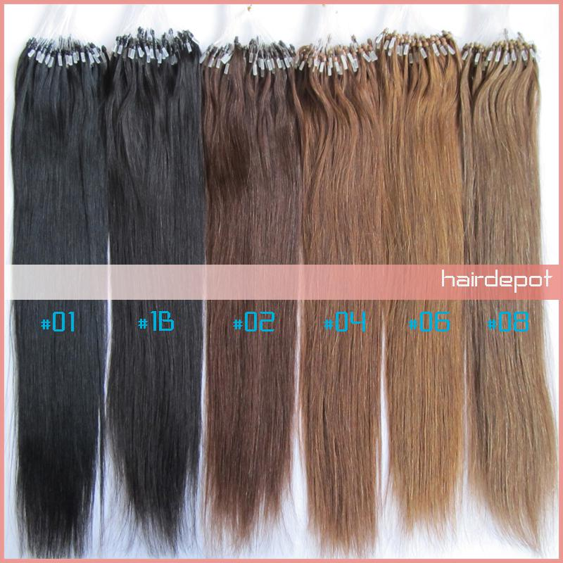 Hot sale 2 16 26 micro loop hair extensions human silky soft hot sale 2 16 26 micro loop hair extensions human silky soft straight remy micro links hair extension beads superb free chinapost hair extensions for micro pmusecretfo Image collections