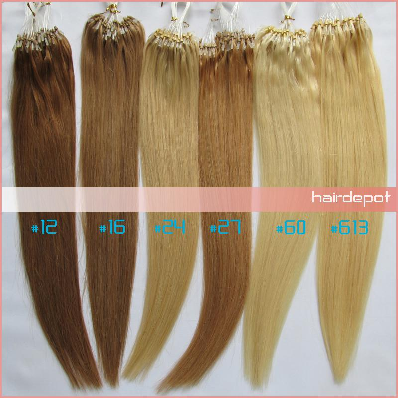 Hot sale 2 16 26 micro ring human hair extensions silky soft hot sale 2 16 26 micro ring human hair extensions silky soft straight easy loop hair extension micro beads superb free chinapost hair extensions with beads pmusecretfo Choice Image