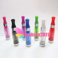 Wholesale Ego Removable - CE5 1.6ml Atomizer Cartomizer Clearomizer ego 7 colors removable no wick Heavy vapor no e-liquid leaking fit Ego Twist Evod Twist 000707