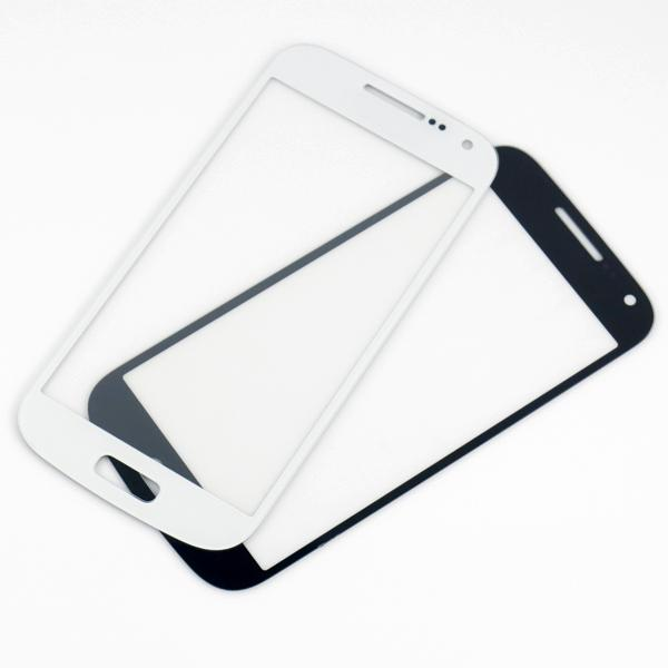 quality A A- For GALAXY S4 Mini i9190 Outer Front Glass Lens Screen Replacement Digitizer Touch Panel Glass Cover Black White MOQ30 PCS