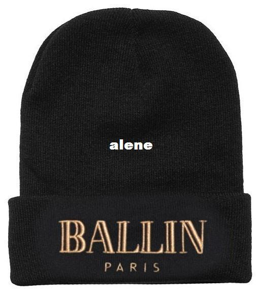 Fashion Brand BALLIN PARIS Beanie Hat Football Skullies Wool Winter Warm Knitted  Caps For Man Women Bennies Skullies Hat Online with  6.56 Piece on ... 33005b587bbe