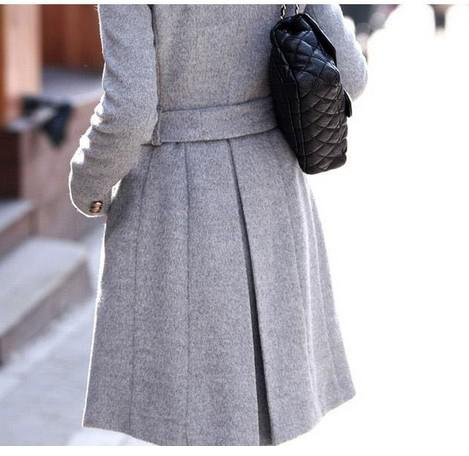 Hot New Abrigos de Lana Delgado Abrigo de Moda Tallas grandes Ropa de Abrigo de Invierno Para Mujeres de Las Señoras Abrigos Cortavientos Outwear Abrigos de Regalo de Navidad DZ8