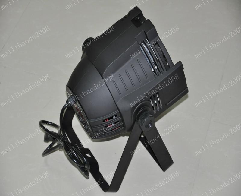 Envío gratis Venta caliente Par 64 LED Luz PAR 18 unids * 10 watts 4 en 1 Quad Color RGB LED Par Puede DMX 8 Canales MEJOR precio MYY5199