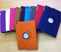 ingrosso nuove copertine magnetiche del ipad-Custodia in pelle magnetica rotante a 360 gradi per iPad Air iPad 5