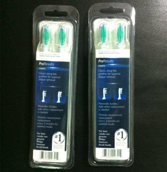 Testine di ricambio ad ultrasuoni elettriche di confezionamento più recenti teste di spazzolino da denti ProResults HX6013 3 pezzi = 1 confezione da DHL
