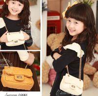Wholesale Oblique Satchel Bags - Leather Bag Girls Handbags Fashion Princess Handbags Children Bags Oblique Satchel The Handbag Hand Bag Shoulder Bag Children Aslant Bag