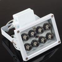 ir lamba cctv toptan satış-Toptan Satış - CCTV Kamera İçin Toptan -NEW 10MM 8 LED Gece Görüş IR Kızılötesi Aydınlatıcı Işık lambası