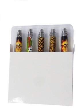 Colorful TSN Battery or T Battery for E Cigarette Skull Football Waves Leopart Battery 650mah 900mah 1100mah Battery for all eGo Series
