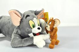 Tom y Jerry felpa suave muñeca de juguete relleno 30 cm nuevo