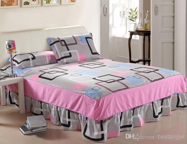 100 cotton household luxury bedding set bed sheets bed for Design of household linens
