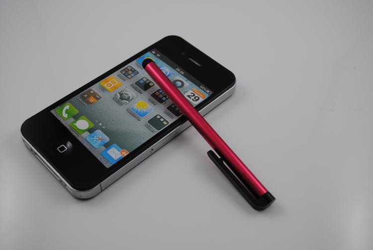 Stylus Pen Pantalla táctil capacitiva Pluma altamente sensible Para el teléfono ipad iPhone Samsung Tablet Teléfono móvil