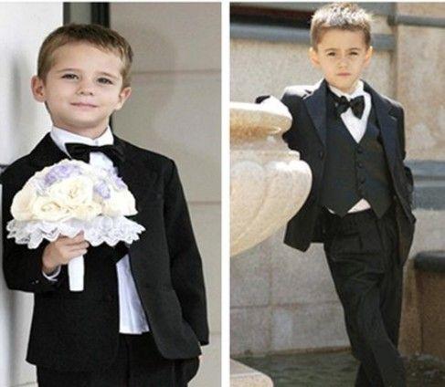 الصلبة الأسود بنين الزفاف الدعاوى حزب سهرة البدلة الرسمية العريس سترة + سروال + القوس التعادل / ربطة العنق + سترة + قميص اللباس البدلة 5 قطع تعيين 5 مجموعات / وحدة # 3465