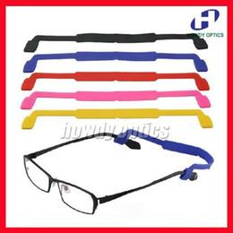 Wholesale Sunglasses Cords Wholesale - Wholesale 50pcs Children Kids Silicone Anti Slip Eyeglasses Sunglasses Glasses holder chain cord String