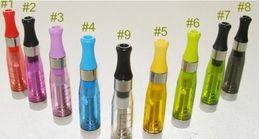 ego t clearomizers Promotion Livraison gratuite en gros 7 couleurs clearomizers EGO CE4 pour batterie ego-c ego-w 510 CE4