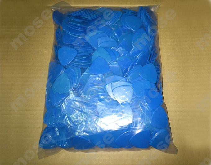 Blå plast tunn trilateral plocka pry verktyg prying öppning skal reparationsverktyg kit triangulär platta för iphone 4 5 6 s mobiltelefon / parti