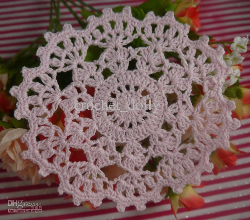EMS Christmas snowflake Crocheted Doilies placemats cup Pad Vase mats,Christmas tree ornaments