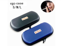Wholesale Ego T Cigarette Carry Case - Electronic Cigarette Ego Case Zipper Bag L M S Size Colorful Can Carry Double EGO-T Battery Kits