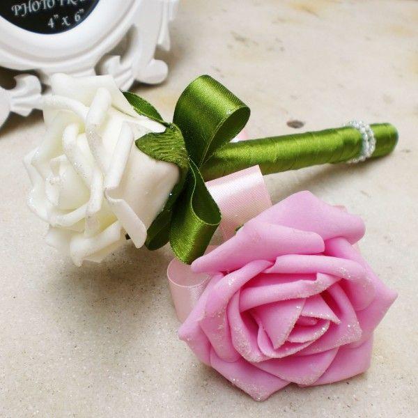 Wedding signature pen Wedding favors wedding guest pens guest colorful rose flower ballpoint pen party favor decorations