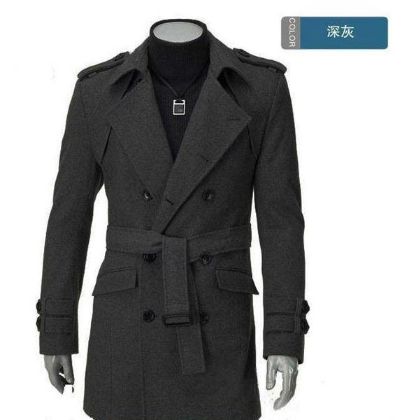 Manteaux Pour En Les De D'épaulettes Manteau HommesL'épaule Tranchée Gros Expédition Acheter D'épaule D'hiver Marché Pois Bon WEH2ID9