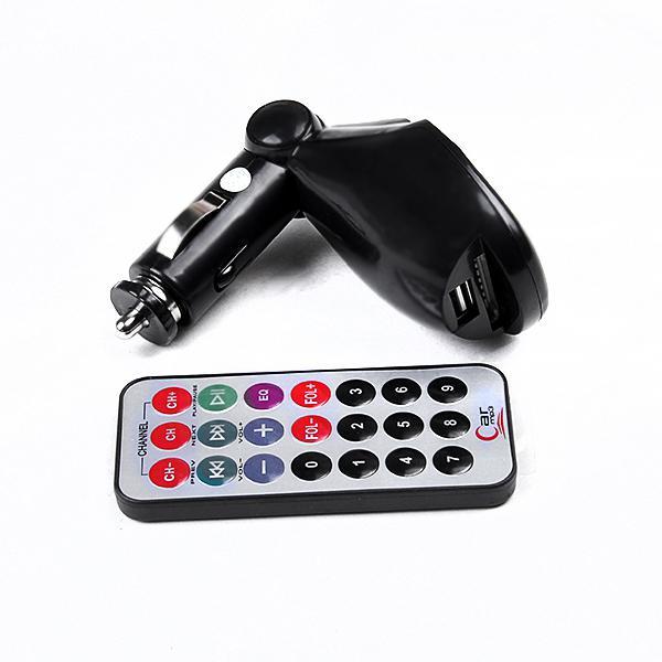 Nagelneuer Autoinstallationssatz MP3 faltbarer FM-Übermittler für SD / MMC / USB / CD 02 Freies Verschiffen