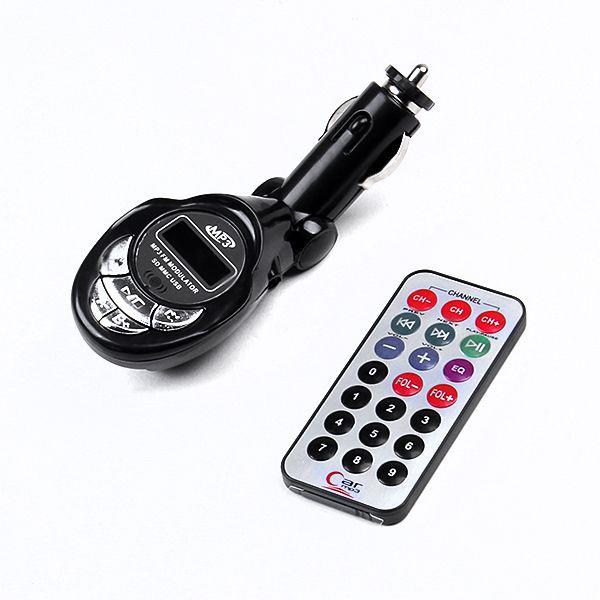 Brand new Car kit MP3 Foldable FM Transmitter for SD/MMC/USB/CD 02