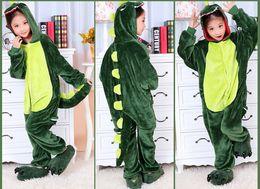 Wholesale Kigurumi For Kids - Cartoon Animal Dinosaur Children Kids Onesies Onesie Pajamas Kigurumi Jumpsuit Hoodies Sleepwear For Children Welcome Wholesale Order