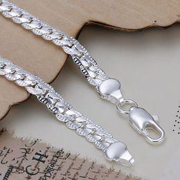 5mm 20cm 925 chaînes en argent sterling pour hommes bracelet bracelet H199 cadeau de Noël livraison gratuite ? partir de fabricateur