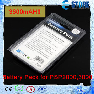 3600mAH 3.6V Battery Pack for Sony PSP 1000 PSP2000,3000, Brand New and EXPRESS Free Shipping White Box Package