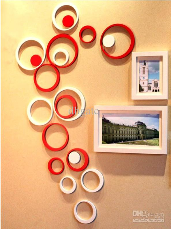 New style 3d wall sticker round shape home decoration wall sticker l381 wall stickers nursery wall stickers quotes from dhgatc 3 6 dhgate com