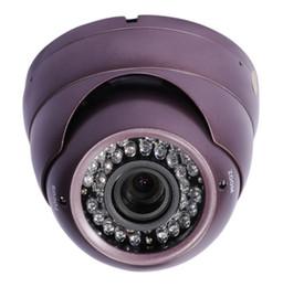 CCTV 480TVL Сони обеспеченностью все время ультракрасная камера CCD Сид ИК 36 ИК vandalproof с объективом 2.8-12mm varifocal