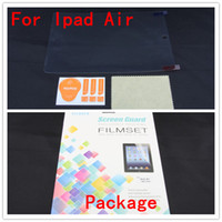 Wholesale Screen Protector Dhl Fedex - Screen protector for ipad air 9.7 inch Clear screen guard With pacakage 50set DHL fedex for ipad air