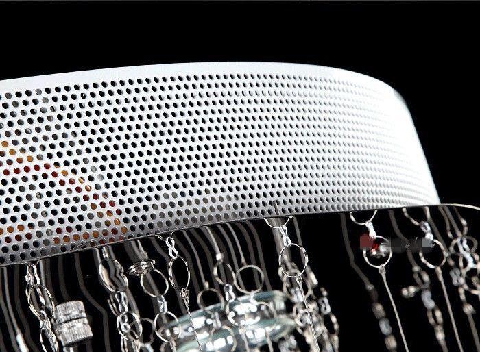 YENI Modern Avize Doğrusal Kristal Işıklar Oturma Odası Lambaları Fikstür Aydınlatma