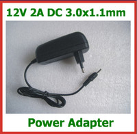 Wholesale Iconia Adapter - 12V 2A Power Supply EU Plug DC 3.0x1.1mm Charger for Acer Iconia Tab A500 A501 A200 A100 A101 Tablet PC Power Adapter