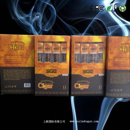 Wholesale Electronic Cigar Pack - 1800 puffs 2013 hotsale New disposable electronic cigarette 1300MAH cigar 12-pack