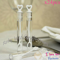 Wholesale Wedding Bubbles Favors - Free shipping!24pcs lot! Hot selling Wedding Tube Bubbles Favors for Wedding Party,Baby Shower favors