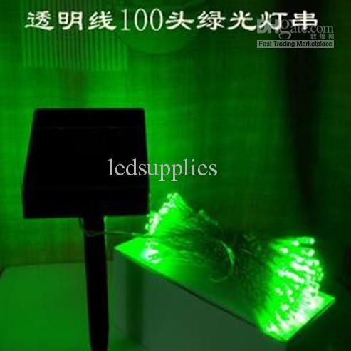 Solar Lighting string led fairy christmas lights holiday lights decoration lamp lantern 100