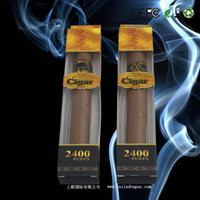 Wholesale Electronic Cigar Pack - 2013 hottest e cig 2400 puffs disposable electronic cigar 1-pack
