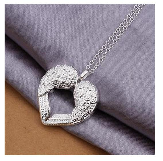 12st Fashion Top Quality Charmiga Smycken Kvinnors Halsband Pendants 925 Sterling Silver