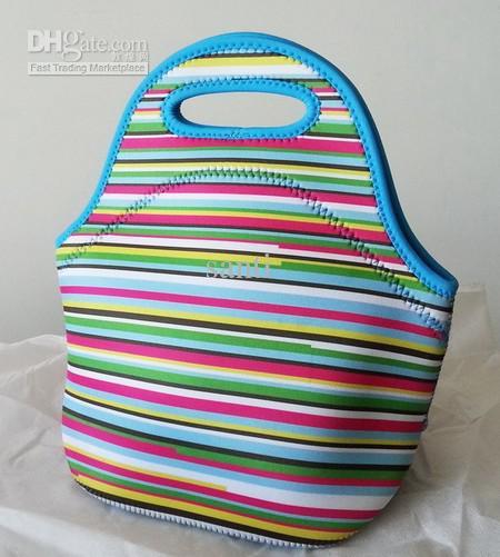Mode Lunchväskor Isolering Neopren Picnic Vattentät Kylare Isolerad Väska Mamma Baby Bag