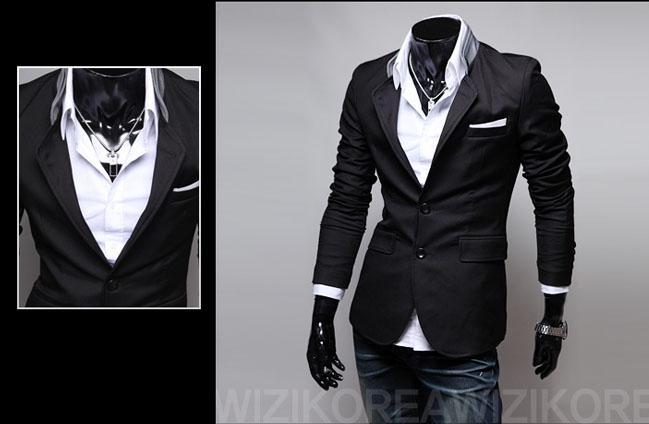 2016 neue Winter Anzüge Blazer Mode Männer Anzüge Smoking Lässige Anzug Mantel Strickjacke mantel Oberbekleidung Windjacke Einfarbig Herrenanzüge M25