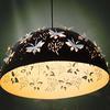 LED flos butterfly pendant light modern minimalist fashion boutique bedrooms restaurant wrought iron chandelier DIA 60CM H 35 CM