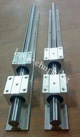 Wholesale 12mm Linear Rail Shaft - 2sets SBR12-2500mm 12MM FULLY SUPPORTED LINEAR RAIL SHAFT + 4pcs SBR12UU Block