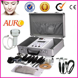 Wholesale Bio Magic Gloves - Christmas promotion BIO Magic Glove Microcurrent Face Lift Facial Skin Spa Salon Machine Toning Beauty machine AU-2011