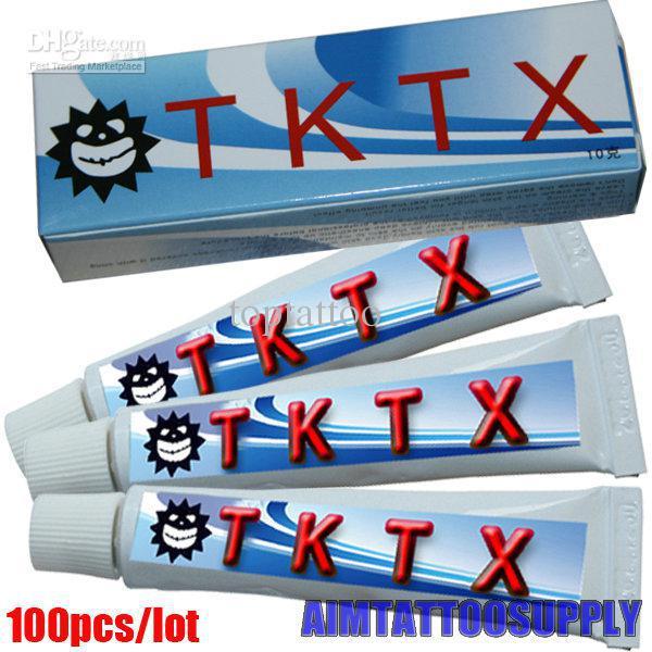 Wholesale Prefessional TKTX Tattoo Numb Cream 10g Tattoo Numbing ...