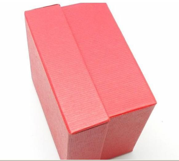luxury watches watches box paper Watch Box with Pillow Paper Gift Boxes Case For Jewelry Box red or black color Free Fedex